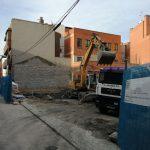continuamos los trabajos de edificación de edificio de viviendas en el madrileño barrio de Vallecas