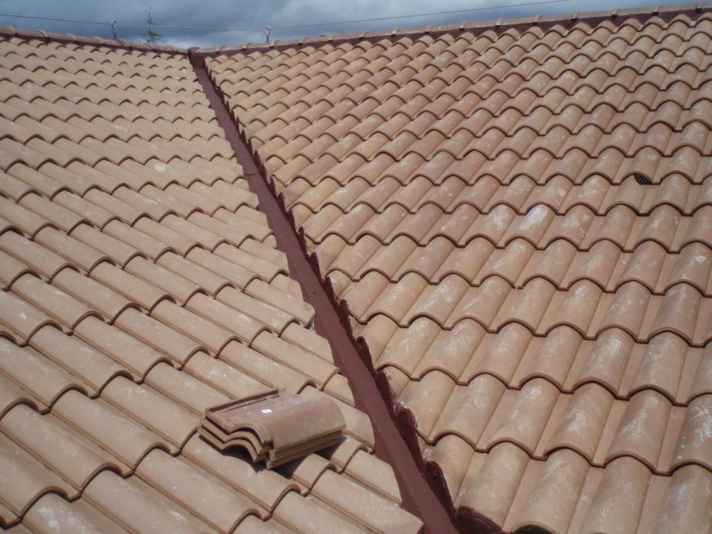 Cubiertas de teja de cer mica mixta grupo cubrian - Cubiertas de tejados ...